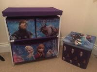 Frozen storage set