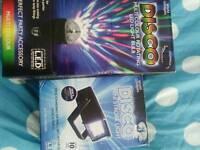 Disco light bulb and light