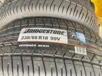 235 55 18 bridgestone protenza v99 pair