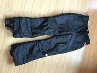 Salopettes Black Mens Size Medium