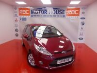 Ford Fiesta ZETEC(STUNNING EXAMPLE) FREE MOT'S AS LONG AS YOU OWN THE CAR!! (red) 2009