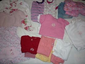 Baby Girls 6-9 months clothes bundle