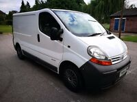Nissan Primaster / Vauxhall Vivaro / Renault Traffic 1.9 DCI VAN Cheap not transit or connect