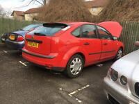 Ford Focus 1.6 lx 2005 BRAKING all available