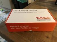 Talk Tall Super Router - Wireless Fibre ADSL