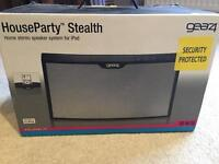House Party Stealth Speaker System for iPod