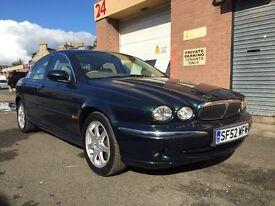 Jaguar X type ** LOW MILEAGE **