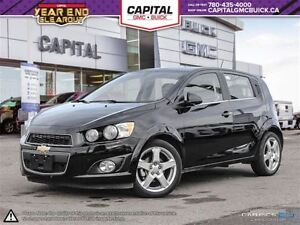2016 Chevrolet Sonic LT Hatch-Appearance pkg-Sunroof-Rear Camera