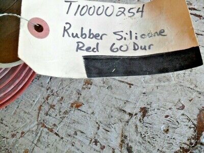 Silicone Rubber Sheet High Temp Redorange Commercial 38x36x116x 60 Dur