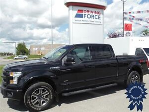 2015 F150 Lariat Sport FX4 - 3.5L EcoBoost - Leather - Sunroof