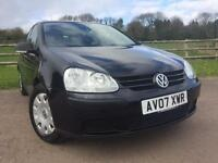 Volkswagen Golf 1.9 TDI S 2007 Black