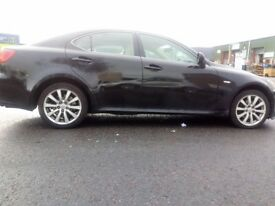 LEXUS IS 220D GLOSSY BACK / CREAM LEATHER