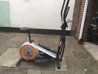 York Fitness Aspire Cross Trainer 2 in 1 exercise bicycle **Excellent Condition** used a handful of