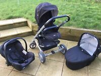 Joie chrome travel system, collection only