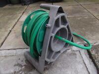 Hozelock garden hose and reel