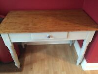 Lovely shabby chic wooden table