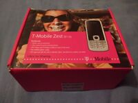 T-Mobile Zest E110 Boxed with accessories