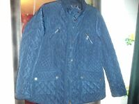 maine ladies quilted jacket size 18