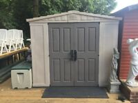 Keter Fortis plastic shed 11 x 8
