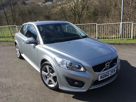 VOLVO C30 R DESIGN - LOW MILEAGE 44200- LOW TAX £30 A YEAR £6200 ONO