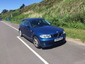 BMW 1 series blue