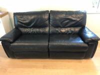 Leather sofa ,double recliner