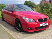 !!IMOLA RED!! 2006 BMW 530D MSPORT / LONG MOT / FULL SERVICE HISTORY 10 STAMPS / 2 PREVIOUS OWNERS