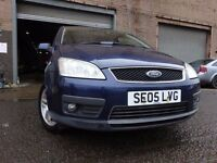 05 FORD FOCUS C-MAX ZETEC 1.6,MOT JULY 017,1 OWNER,FULL SERVICE HISTORY,VERY LOW MILEAGE CAR
