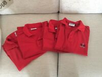 "Shoebury high school polo shirts 38"""