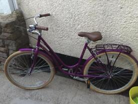 Dutch style lady's bike