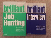 Brilliant Job Hunting / Interview Books