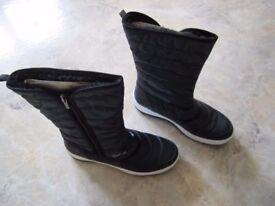 New Legero Women's Ocean Kombi Goretex Snow Boots, size 39 Weite G