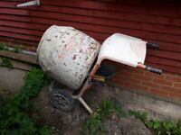 Cement mixer for sale!