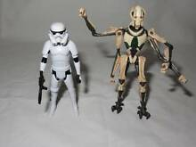 Star Wars Action Figures General Grievous & Stormtrooper Dianella Stirling Area Preview