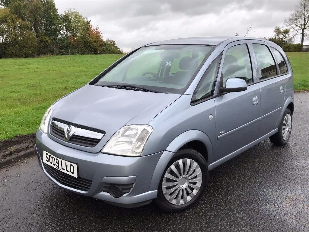2009 Vauxhall Meriva 1 3 Cdti Club Diesel 5 Door Mpv In