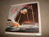 "THE ""WAR OF THE WORLDS"" ""ORIGINAL"" TWO 12.INCH VINYL LP'S SET.-EX"