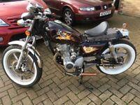 REDUCED!!!....Rat Bike Custom 125 Bobber learner Legal...5000 Miles....1 Owner...New MOT...