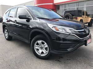 2015 Honda CR-V LX| ONE OWNER| ACCIDENT FREE| LOCAL TRADE|