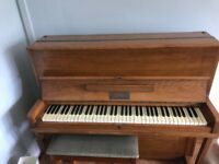 Small upright Wagner model piano