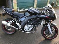 SOLD PENDING PICK UP Suzuki SV650s low mileage with scorpion exhaust and brand new tyre NO MOT