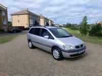 2003 Vauxhall Zafira Design 1.8 Petrol AUTOMATIC