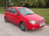 2004 DAEWOO KALOS 1.2, MOT APRIL 2018, ONLY 58,000 MILES, ONLY £495