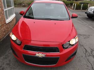 2013 Chevrolet Sonic LS Manual