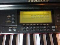 Technics SX-PR53 digital piano. Quite tatty, and works intermittently