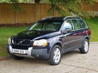 Volvo XC 90 D5 SE Auto (2006/06 Reg) + 1 Lady Owner From New + FSH + 7 Seater + SUNROOF + HIGH SPEC+