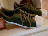 Adidas Superstars size 10