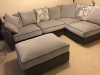 Large Corner Group Sofa