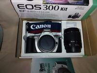 Canon EOS 300 film camera