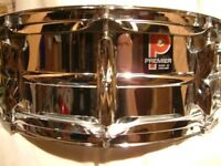 "Premier Model 35 alloy snare drum 14 x 5 1/2"" - Circa '77 - Leicester- Ground breaking drum"