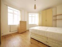 Newly refurbished and very spacious three double bedroom second floor purpose built flat